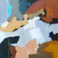 Drömmer fram tid i färg III, 50x50 cm
