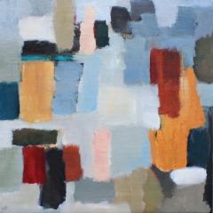 Fragmentering, 42x42 cm, SÅLD